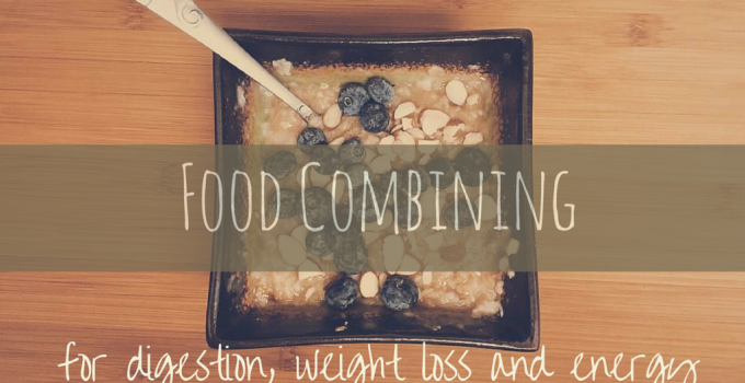 Food combining for optimal digestion